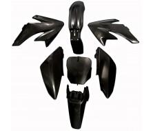 Kit plastique CRF70 noir