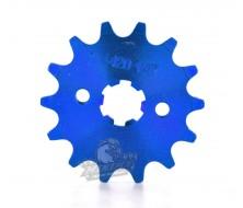 Engine Sprocket 420 14 Teeth 17mm VPARTS - Blue