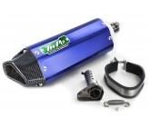 Silencieux Echappement Inox Bleu Twpo 31mm/38mm