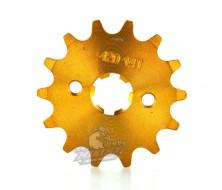 Pignon Renforcé VPARTS 420 15d 17mm - GOLD