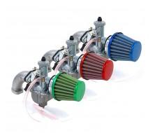 Pack Pipe Carburateur MIKUNI 26mm + Filtre à cornet VPARTS