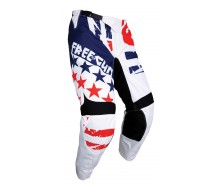 Pantalon FREEGUN Kid USA Bleu/Rouge 2018
