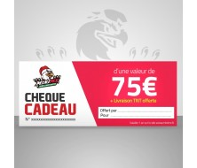 Chèque cadeau MiniMx 75€