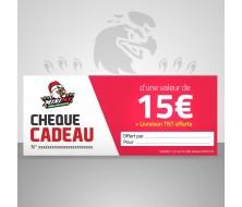 Chèque cadeau MiniMx 15€