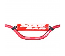 Guidon Fatbar StarBar 28,6mm Rouge 2017