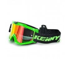 Masque KENNY RACING Track Neon Vert