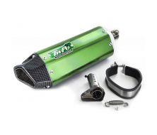 Silencieux Echappement Inox Vert Twpo 31mm/38mm