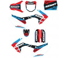 KIT DECO KENNY BLEU/ROUGE CRF110