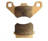 Plaquettes Avant simple piston Haute Resistance F813