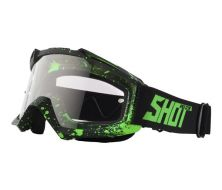 Masque SHOT Assault Drop Noir/Vert
