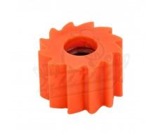 Roulette de chaîne crantée Orange
