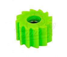 Roulette de chaîne crantée Vert