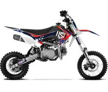 "Dirt Bike 140cc YX 14""/17"" DRIFT US1 Grande Roue"