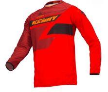 maillot track enfant kenny full red
