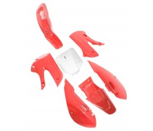 Kit plastique KLX rouge