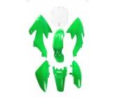 Kit plastique CRF50 vert Dirt Bike