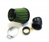 Filtre A Air à Cornet VB NOIR/VERT pour carburateur dirt bike