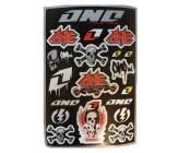 Planche de Stickers ONE Industrie pour Dirt Bike, Pit Bike