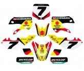 Kit Déco NSTYLE Suzuki/Yoshi. (J. Stewart) KLX110