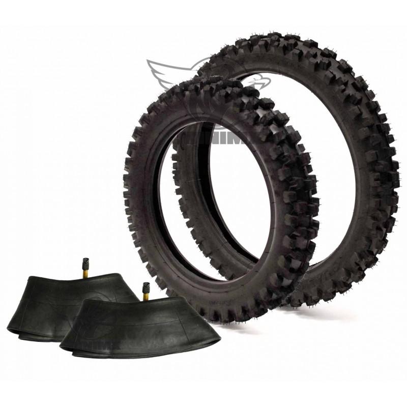 train de pneu guangli chambre air 12 14 pour dirt bike pit bike. Black Bedroom Furniture Sets. Home Design Ideas