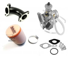 Pack Complet Carburateur Twin Air/Mikuni 26mm pour Dirt Bike