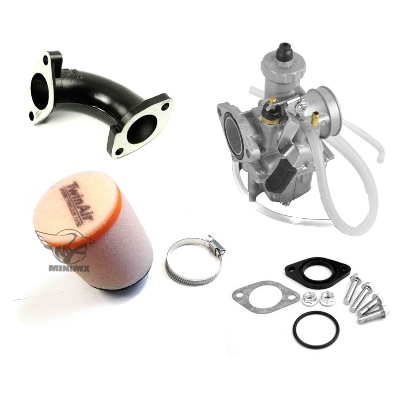 1374 Pack  plet Carburateur Mikuni Et Filtre A Air Twin Air Pour Dirt Bike on p0032