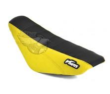 Housse de Selle Vparts KLX Noir/Yellow