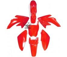 Kit plastique CRF70 Rouge