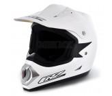 Off Road White CRZ Helmet (M, L)