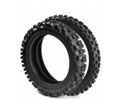 "Set of Tyre Cross Vee Rubber 12"" Rear/14"" Front"