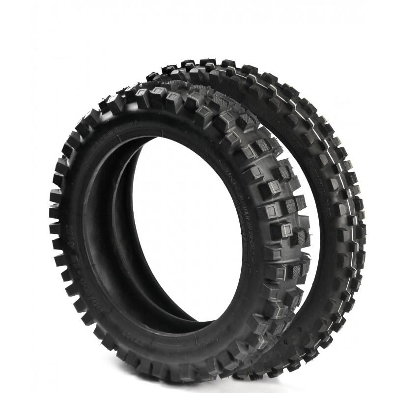 pack de pneu vee rubber pour dirt bike 12 14 mini mx. Black Bedroom Furniture Sets. Home Design Ideas