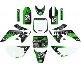 Kit Décoration CRF50 FREEGUN DEEP Vert 2015