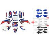 Set Graphics Kit FREEGUN US 2015 + Plastics Kit CRF50
