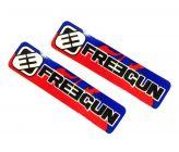 Stickers de Bras Oscillant Freegun pour Dirt Bike