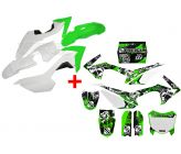 Pack FREEGUN DEEP CRF110 (Deco + Plastique) pour Dirt Bike