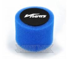 Filtre à Air VPARTS Double Mousse Bleu 38mm