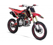 "Pit Bike Gunshot 125-FX - Rouge 14""/17"""