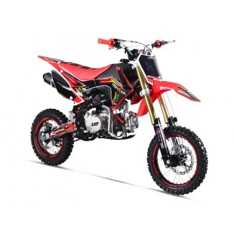Pit Bike GUNSHOT 140 FX Dirt pas cher kit deco MONSTER ENERGY Vert