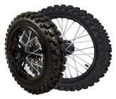 "Pack de Roue complete 14""/17"" Dirt Bike"