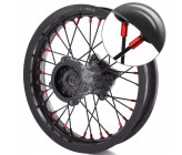 """12"""" Rear Alloy rims VPARTS Red"""