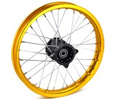 Alloy Gold Rims 14'' Front (Axle 15mm)