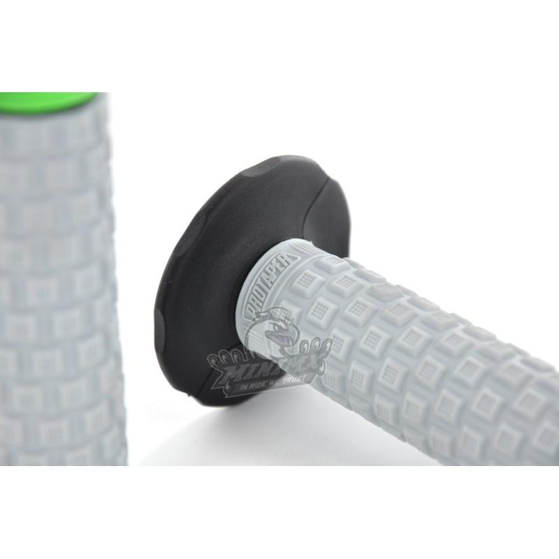 poign e pro taper vert pour dirt bike pit bike. Black Bedroom Furniture Sets. Home Design Ideas