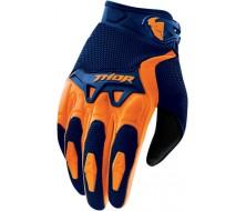 Gants THOR Spectrum Orange Bleu (S, M, L)