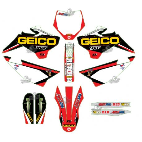 Kit Decoration YCF GEICO