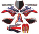 Kit Deco NStyle YCF Lucas Oil Rouge