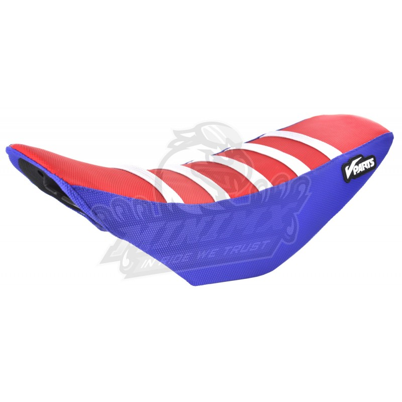 Seat Cover CRF110 Red Blue White