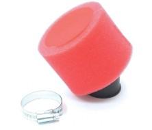 Filtre à air Double mousse Rouge 35mm
