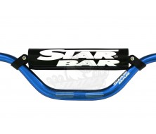Guidon Fatbar StarBar 28,6mm Bleu 2014 pour Dirt Bike