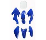 Kit plastique CRF50 bleu Dirt Bike