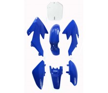 Kit plastique CRF50 bleu